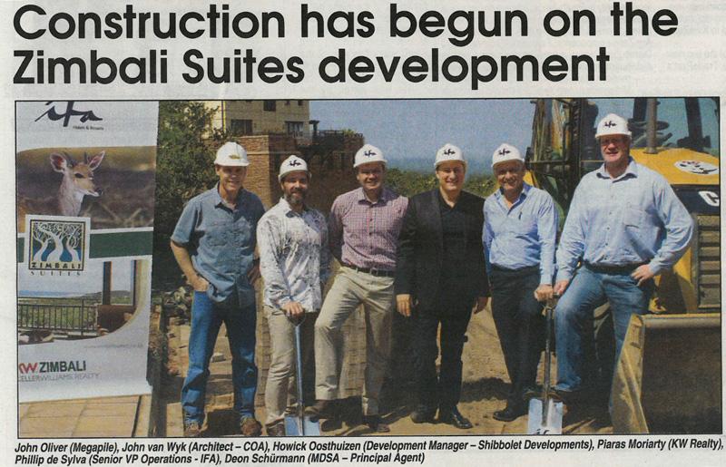 Zimbali Suits Development Press Release Mega Pile