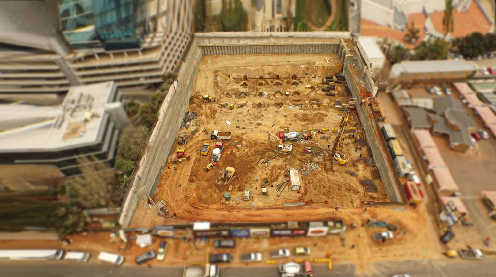 Mega-Pile-Gauteng-Piling-Project---161-Rivonia-Road,-Sandton